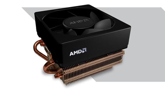 Wraith é o novo cooler padrão da AMD para processadores top (Foto: Divulgação/AMD)