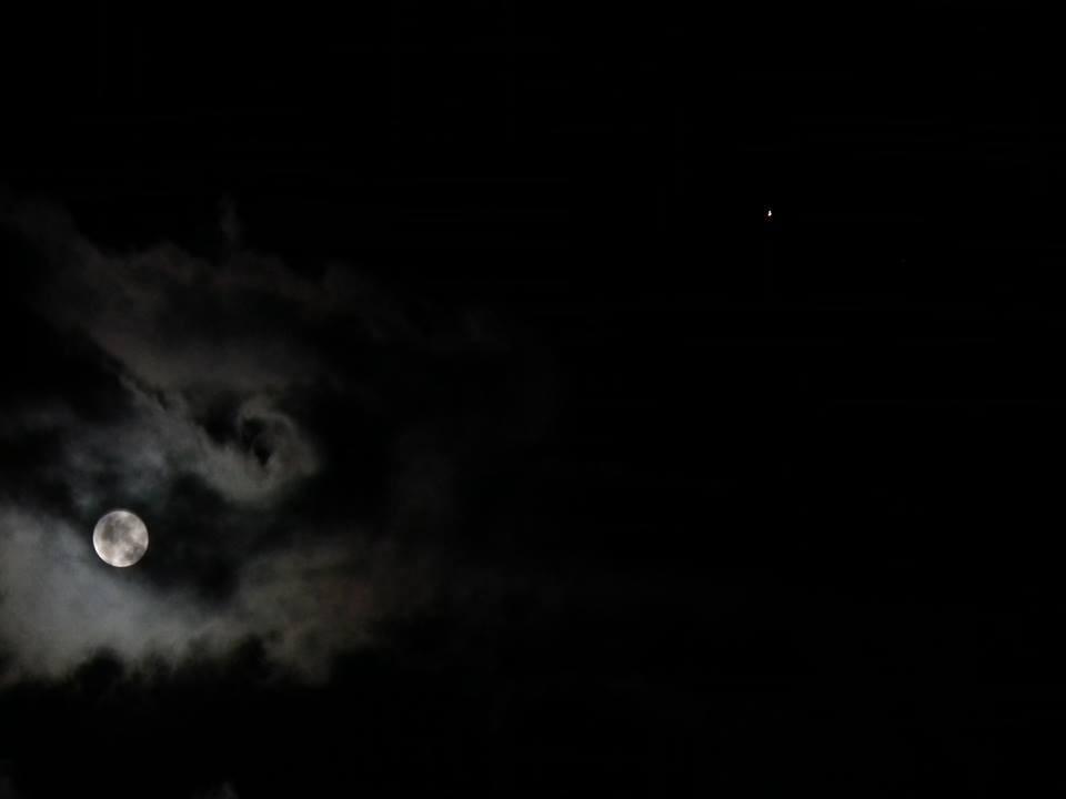 lua azul (Foto: Flavio Geraldo)