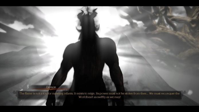 Em Bound by Flame seu personagem é possuido por um demônio (Foto: Reprodução/MMORPG)