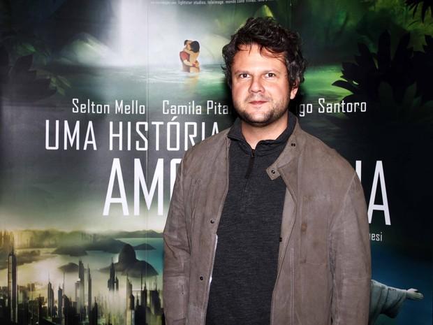 Selton Mello em pré-estreia de filme em São Paulo (Foto: Paduardo/ Ag. News)