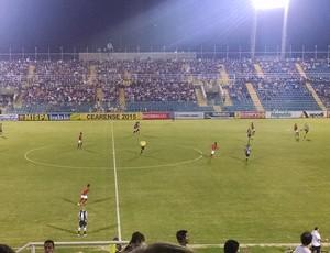 Ceará x Guarani de Juzeiro, semifinal, Campeonato Cearense  (Foto: Juscelino Filho)