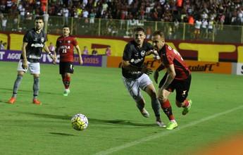 """Edinho afirma que Botafogo soube aproveitar """"desespero"""" do Vitória"""