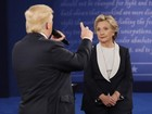 Os 5 momentos mais tensos e incômodos do debate entre Hillary e Trump