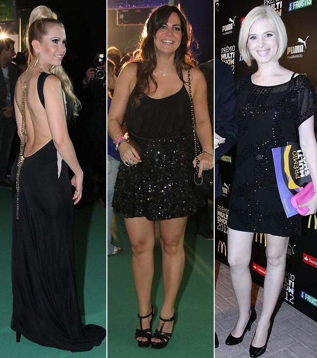 Joelma; Carol Sampaio; Dani Valente (Foto: Ag News)