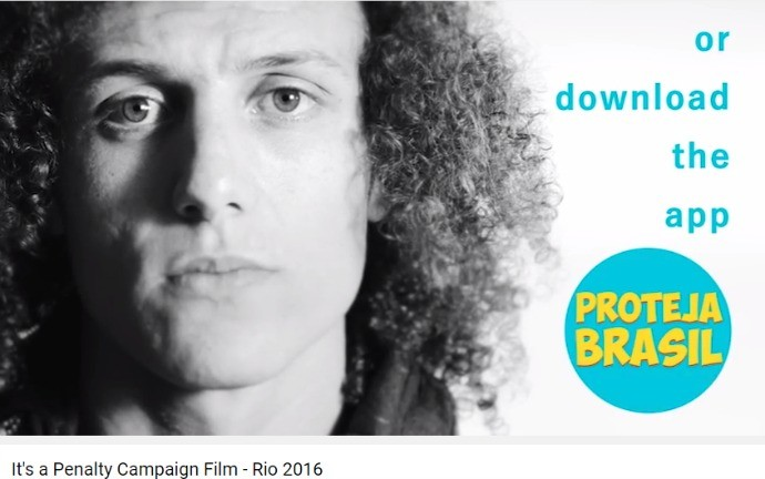 David Luiz campanha olímpica