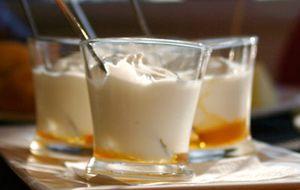 Mousse de iogurte desnatado
