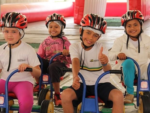 Projeto é realizado em escolas de Itapetininga (Foto: Divulgação/Prefeitura de Itapetininga)