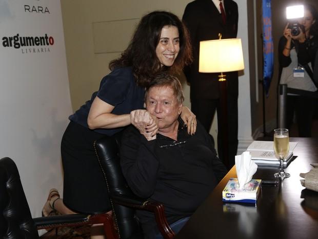Fernanda Torres e Boni (Foto: Alex Palarea / Felipe Assumpção)