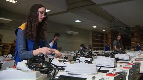 Urnas começam a ser preparadas para as eleições em Londrina