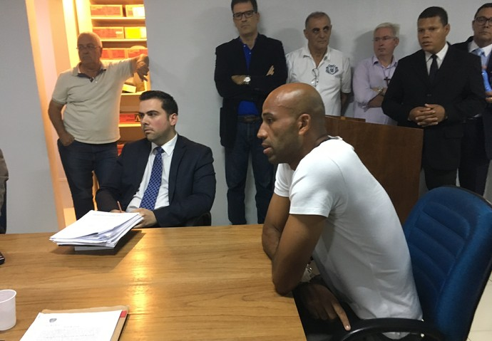 Julgamento Gama x Brasiliense (Foto: Fabrício Marques)
