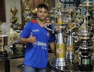 Bruno Veiga, atacante São Caetano (Foto: Divulgação / AD São Caetano)