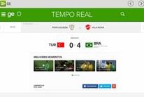 GloboEsporte.com lança novo aplicativo: confira como baixar (Reprodução)