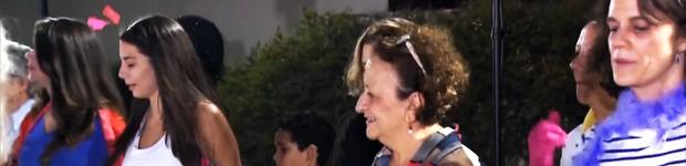 Coreógrafo do Dança dos Famosos ajuda participantes do Medida Certa (TV Globo)