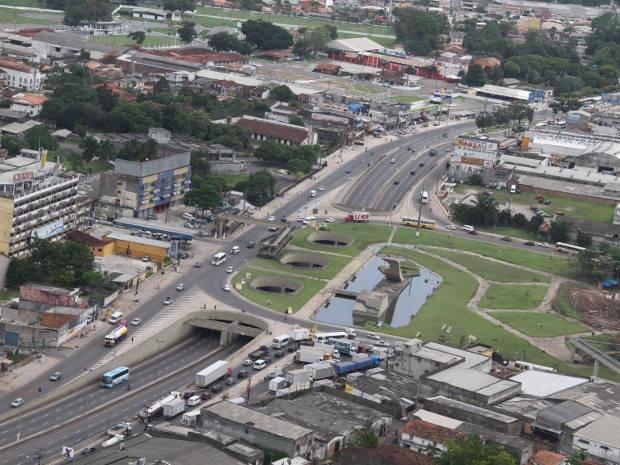Por causa das obras do BRT administração do Entroncamente passa a ser feita pela prefeitura de Belém  (Foto: Ary Souza/O Liberal)