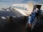 Avião da Varig é restaurado e aberto para visitação em Porto Alegre