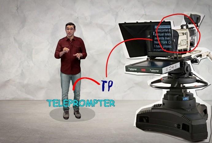 Marcão explica como funciona a gravação do quadro 'Inteirado' (Foto: Reprodução/TV TEM)