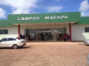 Concurso é para os campi de Macapá e Laranjal do Jari. (Foto: Jéssica Alves/G1)