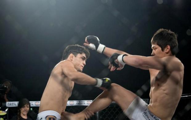 Dymitry Moycano participou da 1ª edição do Iron Fight Combat (Foto: Luciano Veloso/Iron Fight)
