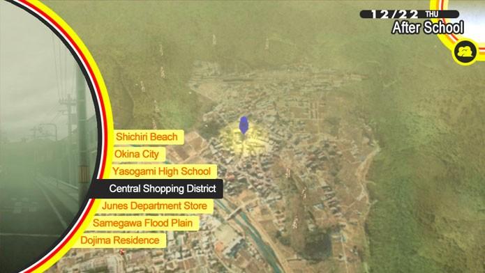 Use o mapa para explorar a cidade (Foto: Divulgação)
