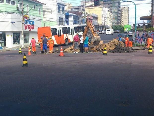 A previsão de término da obra está prevista para a próxima quarta-feira (Foto: Seminf/Divulgação)