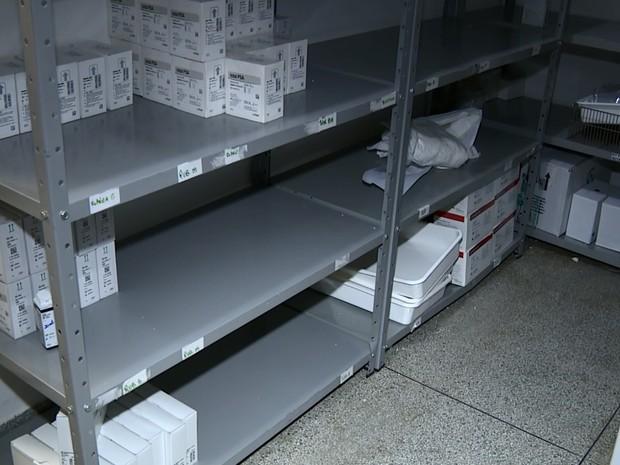 Faltam kits para realização de exames em Campinas (Foto: Reprodução/ EPTV)