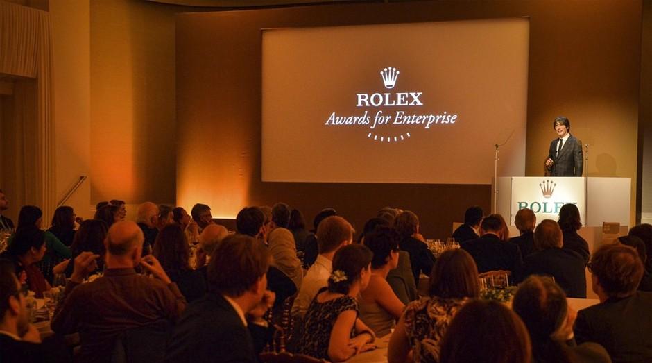 Rolex reconhece empreendedores que desenvolvem soluções para ajudar o mundo (Foto: Reprodução)