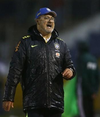 Rogério Micale Brasil x Uruguai Sul-Americano Sub-20 (Foto: Lucas Figueiredo / CBF)