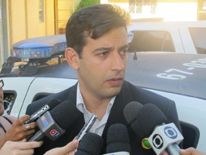 Delegado que investiga o caso da morte de Angelina Filgueiras (Foto: Bernardo Tabak/G1)