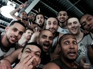 selfie spurs (Foto: Reprodução/Instagram)