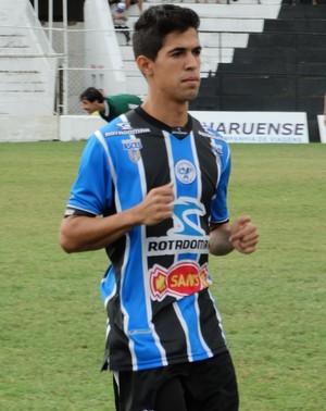 luquinhas, porto-pe, (Foto: Vital Florêncio / GloboEsporte.com)