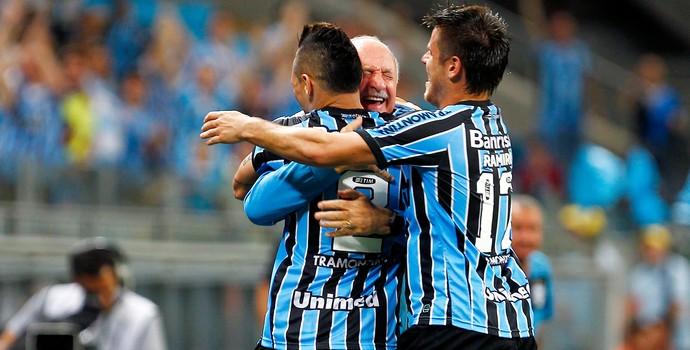 Grêmio x Vitória - Pará e Felipão (Foto: Getty Images)