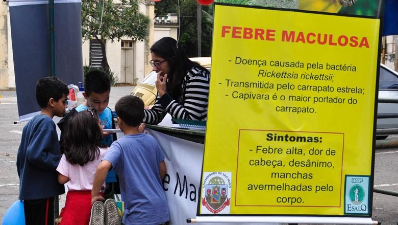 esalq-febre-maculosa-campanha (Foto: Carlos Alberto Perez/Divulgação)