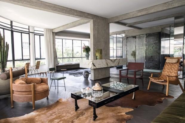 O apartamento paulistano da artista carioca (Foto: Deco Cury)