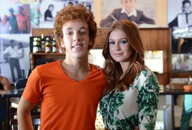 Marina Ruy Barbosa é apontada como namorada do Ruivo em comercial