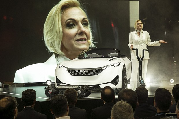 Ana Theresa Borsari, presidente da Peugeot do Brasil (Foto: Salão do Automóvel 2016)