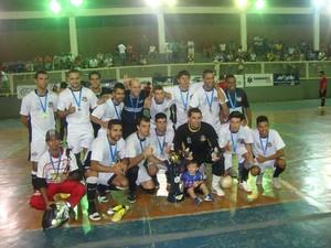 Copa TV Integração Futsal Muriaé campeão (Foto: Bruno Ribeiro)