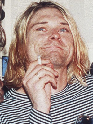 Kurt Cobain em foto de 1993