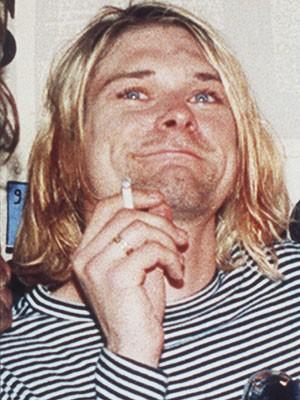 Kurt Cobain em foto de 1993 (Foto: AP Photo/Mark J.Terrill)