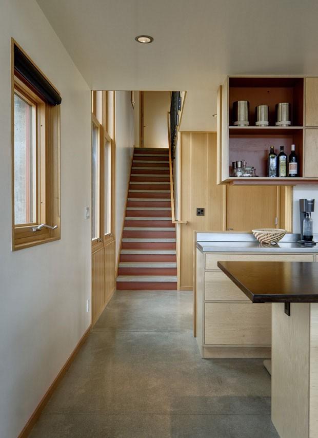 Casa de madeira e concreto em Cashmere, Washington (Foto: Steve Keating Photography / divu)