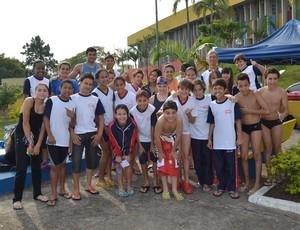 Atletas da Associação Suzanense de Esportes Aquáticos Suzano (Foto: Divulgação)