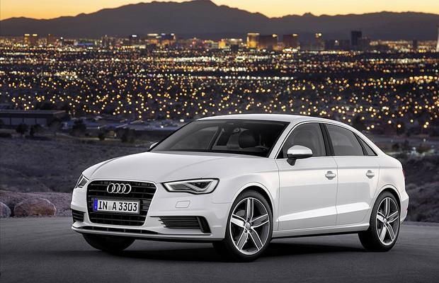 Audi A3 Sedan deve ser exibido ao público em setembro, no Salão de Frankfurt (Foto: Divulgação)