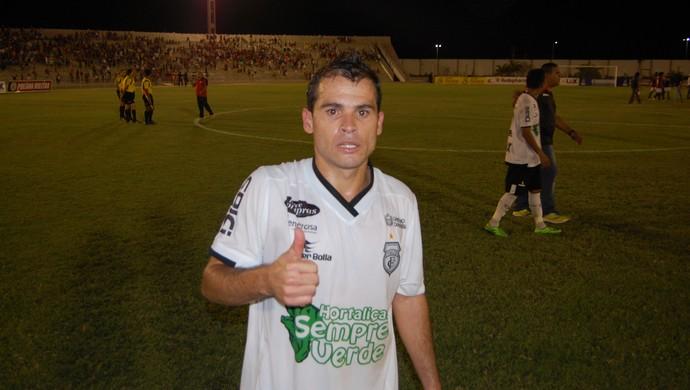 Doda, meia do Treze (Foto: Silas Batista / GloboEsporte.com)