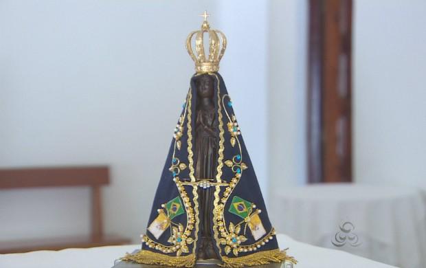 Festividade em homenagem à Nossa Senhora de Aparecida acontece esta semana. (Foto: Reprodução/TV Amapá)