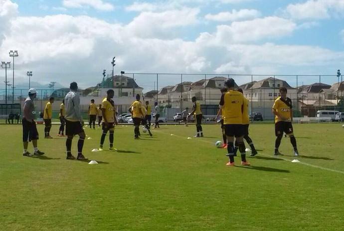 Treino do Vasco no CFZ (Foto: Globoesporte.com)