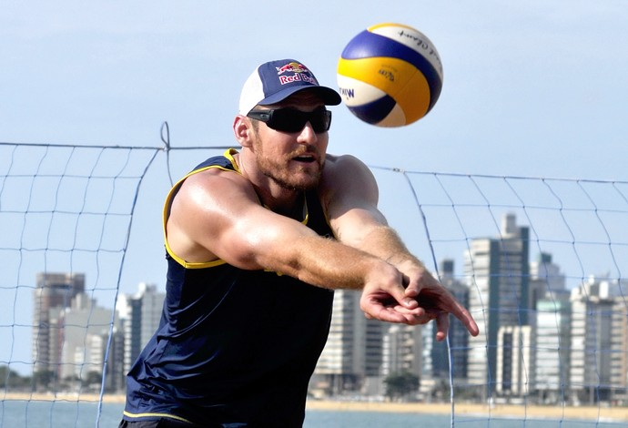 Alison, jogador capixaba de vôlei de praia (Foto: Marcelo Prest/A Gazeta)