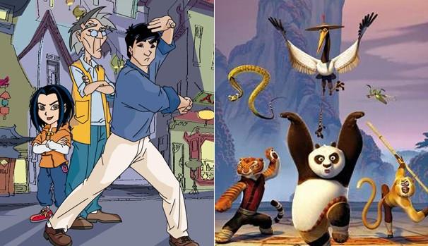 Pra começar bem o sábado veja 'As Aventuras de Jackie Chan' e 'Kung Fu Panda' (Foto: Divulgação/Reprodução)
