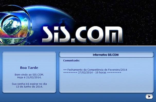 SIS.COM - TV Anhanguera (Foto: TV Anhanguera)