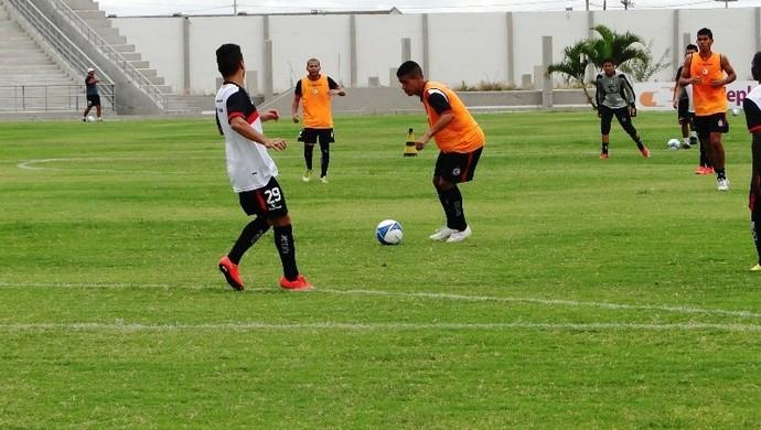 Campinense, treino, Amigão (Foto: João Brandão Neto / GloboEsporte.com/pb)