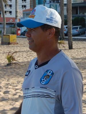 Ramiro Sousa, técnico do CSP (Foto: Lucas Barros / Globoesporte.com/pb)