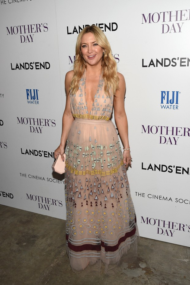 Kate Hudson em première em Nova York, nos Estados Unidos (Foto: Bryan Bedder/ Getty Images/ AFP)